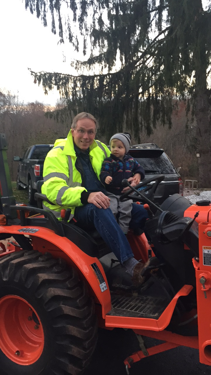 PA Tractor ride