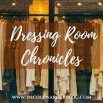 dressing room chronicles