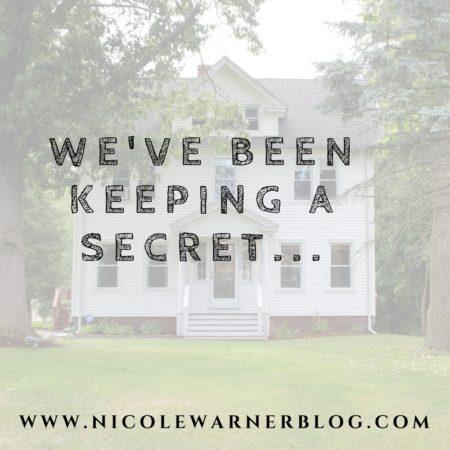 We've Been Keeping A Secret…