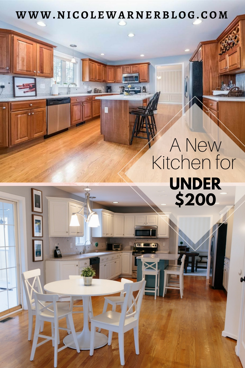 Kitchen Refresh – A Little Elbow Grease for My Dream White Kitchen