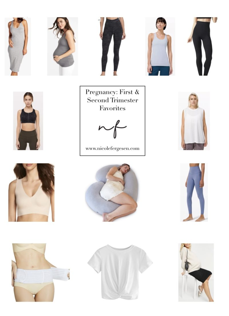 Pregnancy Favorites: First & Second Trimester