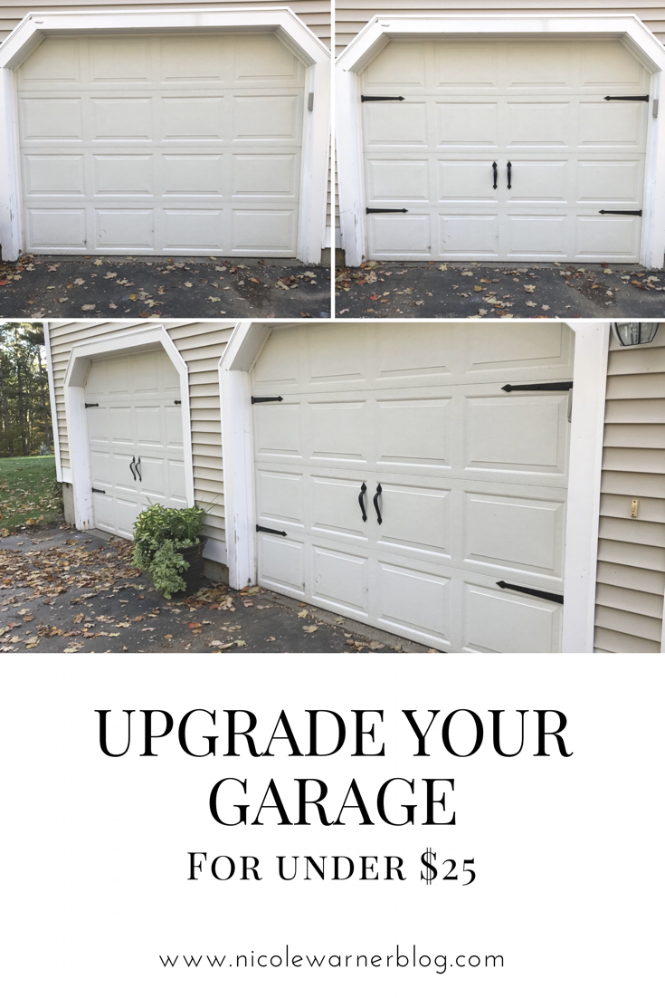 Oh You Fancy, Huh? A Simple Garage Door Upgrade