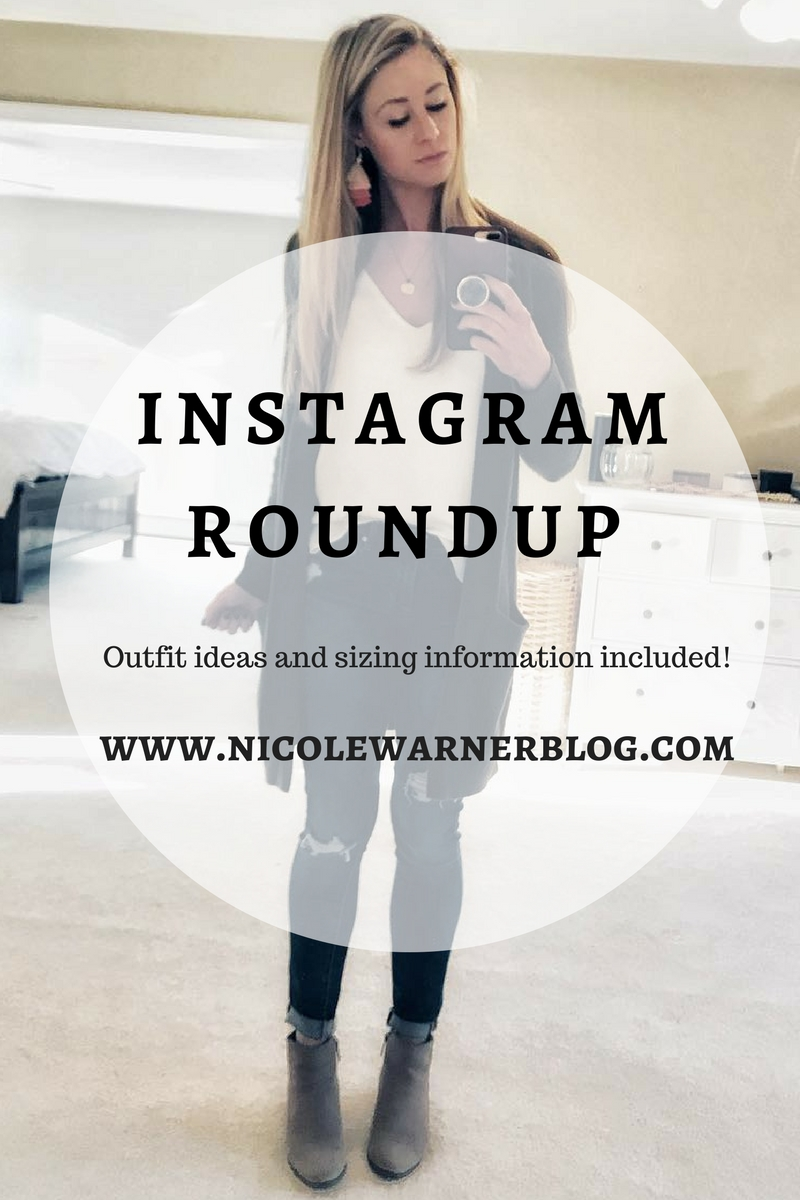 Roundup 10 Inspiring Budget Friendly Bedroom Makeovers: Instagram Roundup:10/31-11/20 Outfit Fashion Inspiration